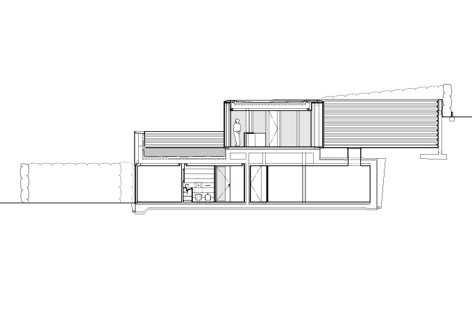 lake lugano house drawings